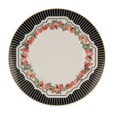 P by Prouna Valentine Rose Salad Plate