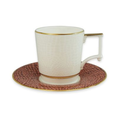 P by Prouna Ostrich Teacup and Saucer