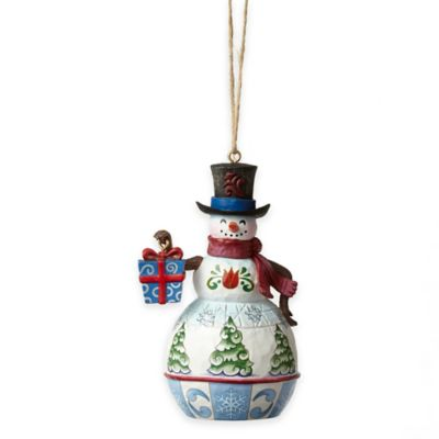 Jim Shore® Mini Snowman Ornament