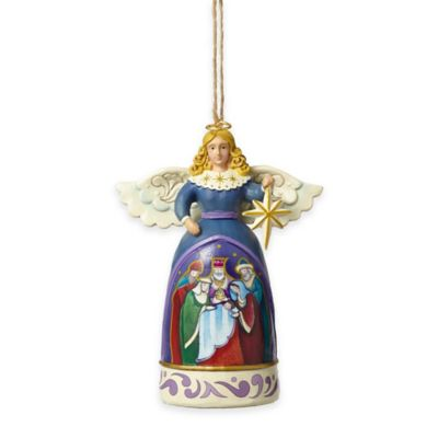 Jim Shore® Mini Angel Star Nativity Ornament