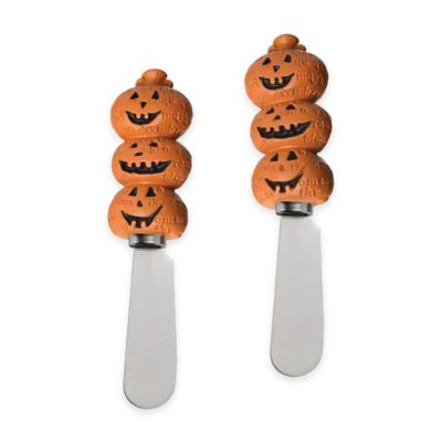 Boston International Pumpkin Toss Spreaders (Set of 2)