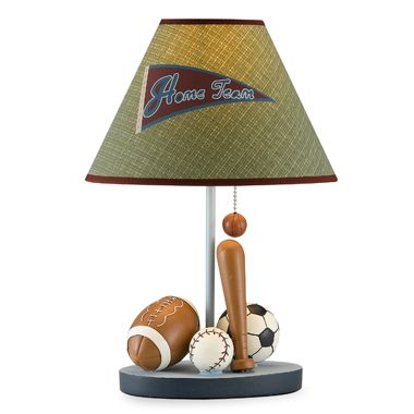 CoCaLo Baby® Sports Fan Lamp Base and Shade