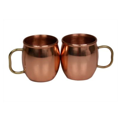 Jodhpuri™ Moscow Mule Mini Shot Mugs Dining