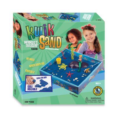 Kwik Sand Mermaid's Treasure Play Set