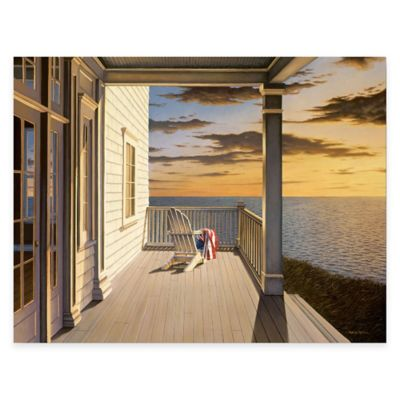 Last Light 24-Inch x 36-Inch Gallery Canvas Wall Art