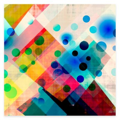Colorful Abstract I Gallery Canvas Wall Art