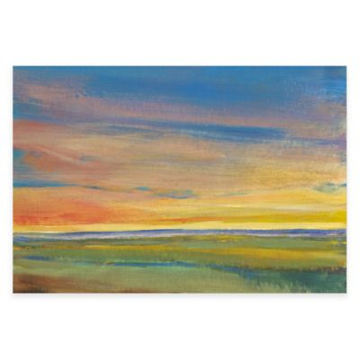 Golden Horizon Gallery Canvas Wall Art