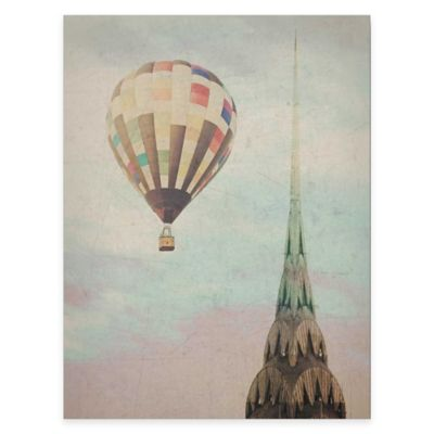 Chrysler Air Balloon Gallery Canvas Wall Art