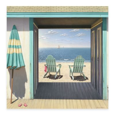Beach Club 30-Inch x 30-Inch Gallery Canvas Wall Art