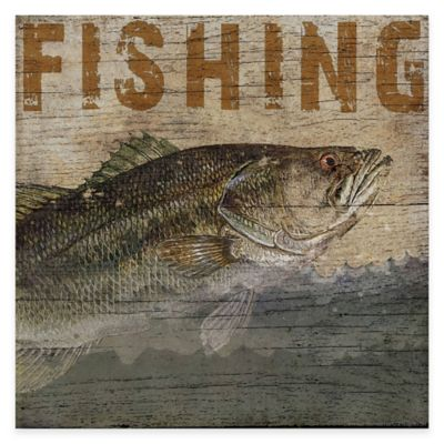 Fishing Lodge Gallery Canvas Wall Art