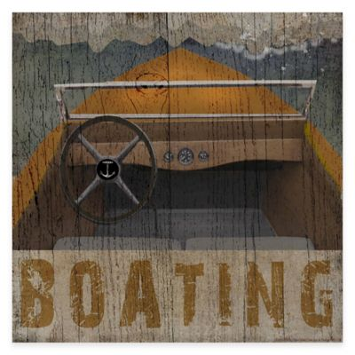 Boating Lodge Gallery Canvas Wall Art