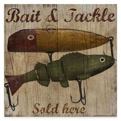 Bait and Tackle Gallery Canvas Wall Art