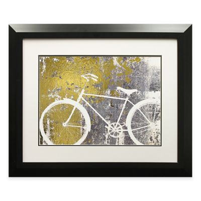 Gilded Ride Framed Wall Art