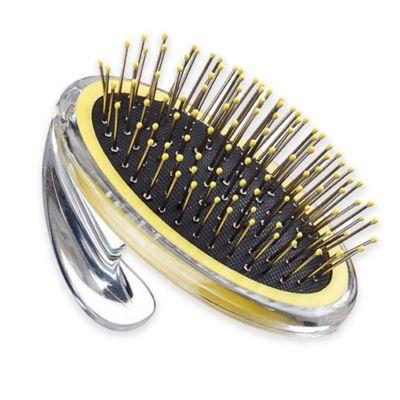 Black Yellow Pin Brush