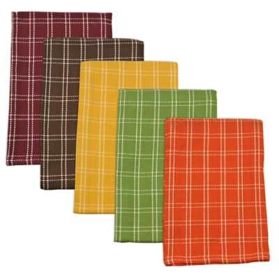 Harvest Heavyweight Essentials Kitchen Towels (Set of 5)
