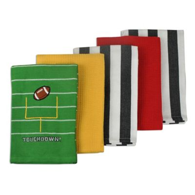 Tailgating 5-Pack Kitchen Towels