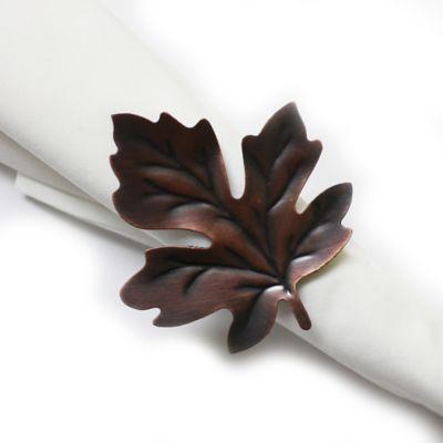 Falling Leaf Napkin Ring