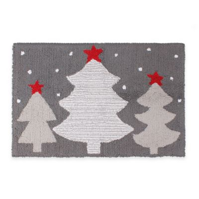 Winter Wonderland 1 Foot 6-Inch x 2 Foot 5-Inch Tufted Rug