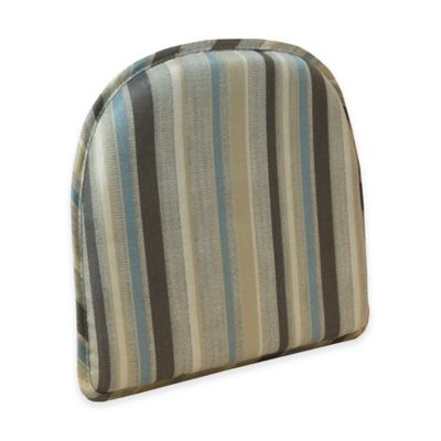 Klear Vu Essentials Tolisa Stripe Gripper® Chair Pad in Multi