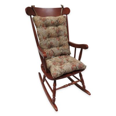 Klear Vu Somerset Universal Extra-Large 2-Piece Rocking Chair Pad Set in Multi