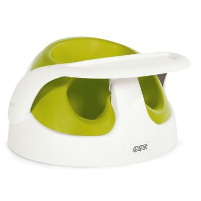 Mamas & Papas Baby Snug with Tray in Lime