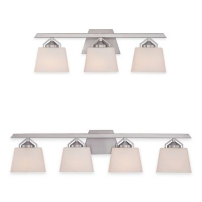 Illumina Direct Miles 4-Light Wall-Mount Vanity Light in Brushed Nickel