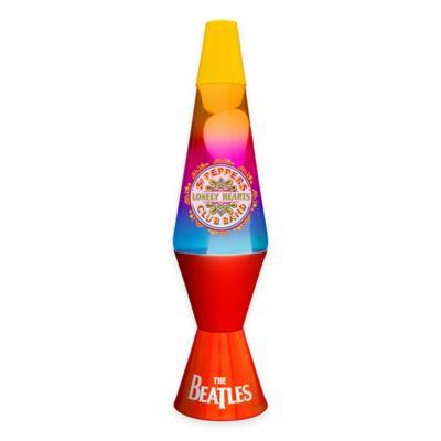 "Lava Lite® The Beatles ""Sgt. Pepper"" Lava Lamp with Tri-Color Globe"