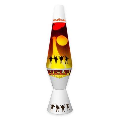 "Lava Lite® The Beatles ""Help!"" Lava Lamp with Tri-Color Globe"