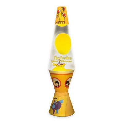 "Beatles ""Yellow Submarine Lava Lamp"