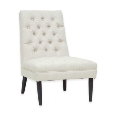 Baxton Studio Zimmia Accent Chair in Beige (Set of 2)