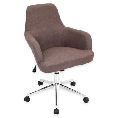 LumiSource Degree Office Chair in Brown