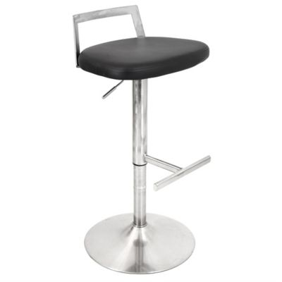 LumiSource Nano Barstool in Black