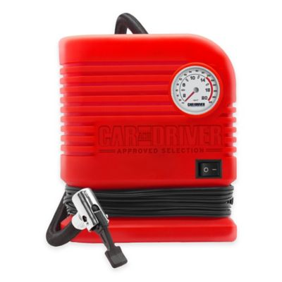 Car and Driver 250/300 PSI Portable Air Compressor
