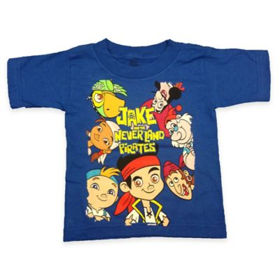 FREEZE Disney® Jake and the Neverland Pirates Size 4T Short Sleeve T-Shirt in Royal Blue