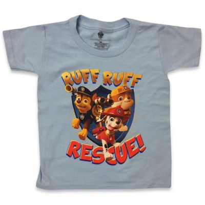 "FREEZE Nickelodeon™ Size 2T Paw Patrol ""Ruff Ruff Rescue"" Short-Sleeve Shirt in Sky Blue"