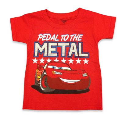 "FREEZE Disney® Size 2T Cars ""Pedal to the Metal"" Shirt in Red"