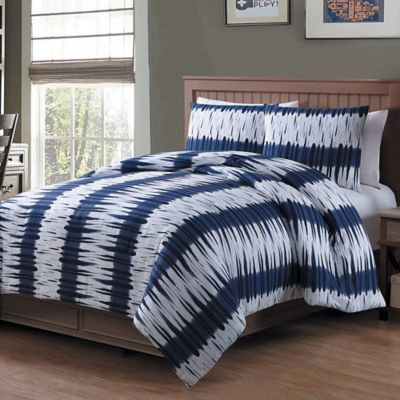 Bali 2-Piece Twin Comforter Set in Blue