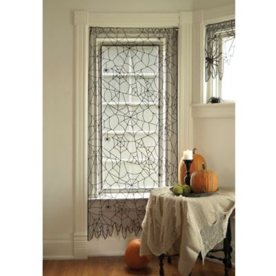 84-Inch Creepy Crawly Window/Door Curtain Panel in Grey