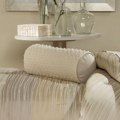 Waterford® Wavy Daze Neckroll Throw Pillow