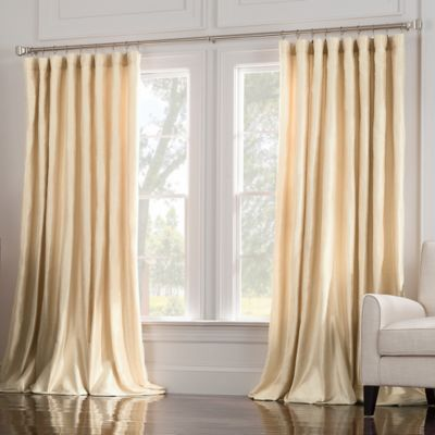 Valeron Estate 120-Inch Window Curtain Panel in Pearl