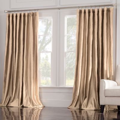 Valeron Estate 120-Inch Window Curtain Panel in Taupe