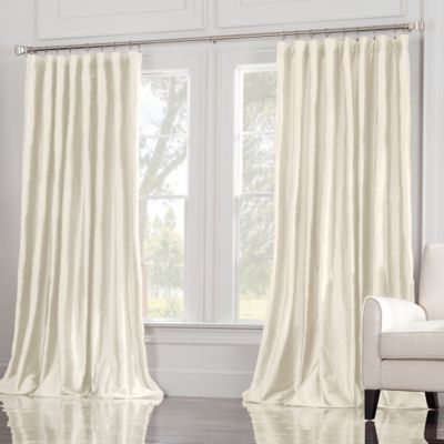 Valeron Estate 120-Inch Window Curtain Panel in Ivory