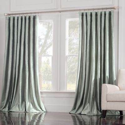 Valeron Estate 120-Inch Window Curtain Panel in Blue