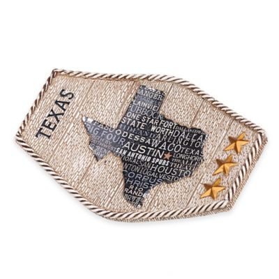 Avanti Texas Lone Star Soap Dish in Beige