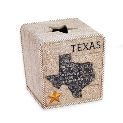 Avanti Texas Lone Star Tissue Cover in Beige