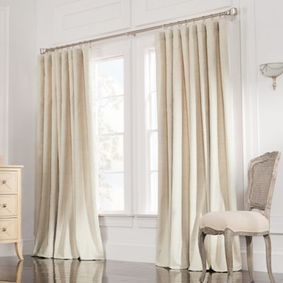 Valeron Estate 108-Inch Rod Pocket Insulated Double-Wide Window Curtain Panel in Sand