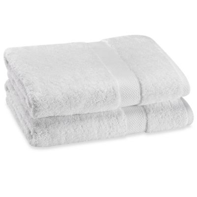 Paramount Bath Towels in Chrome (Set of 2)