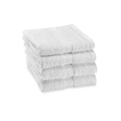 Paramount Hand Towels in Chrome (Set of 4)