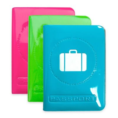 Fifth Avenue My Passport Waterproof Protector Cover in Blue
