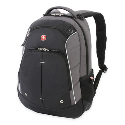 Grey Black Backpack